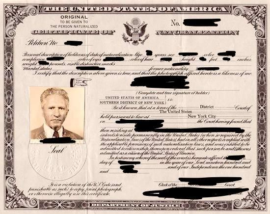 US Naturalization Documents Overview