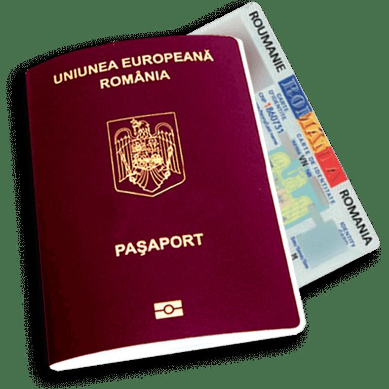 EU Romanian Passport